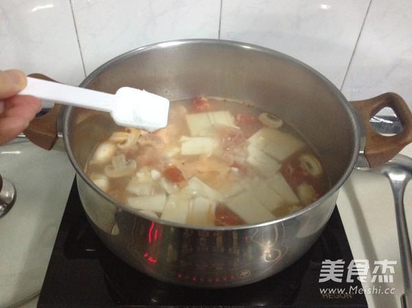 豆腐虾仁一锅鲜怎么煮