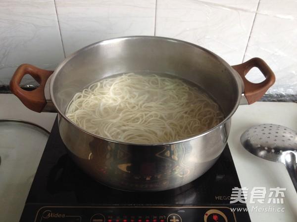 上海葱油拌面怎么做