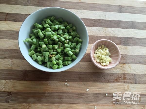 肉末豇豆拌面的做法图解