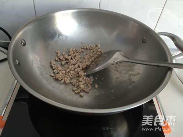 肉末豇豆拌面的家常做法