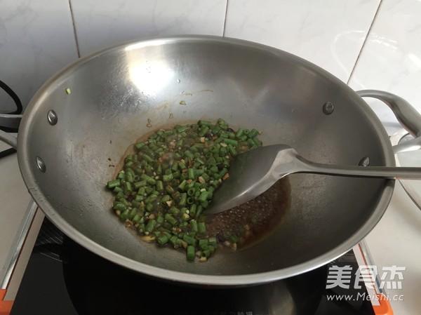 肉末豇豆拌面怎么做