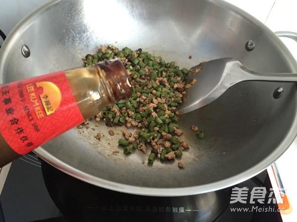 肉末豇豆拌面怎么煮