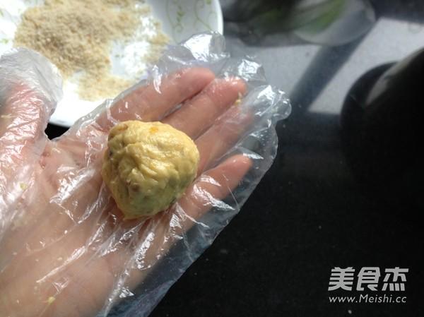 薯泥核桃球怎么吃