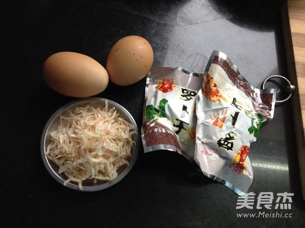 萝卜干虾皮炒鸡蛋的做法大全