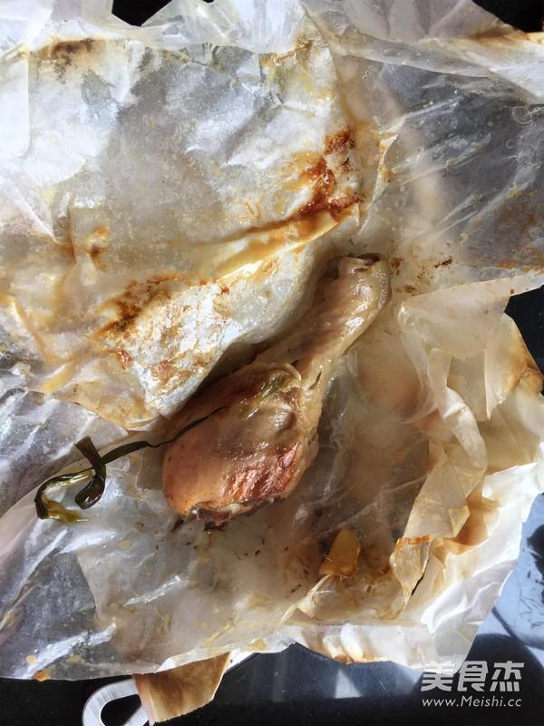 盐焗鸡腿怎么做