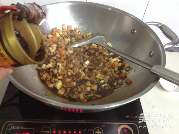 双菇豆豉肉酱怎么做