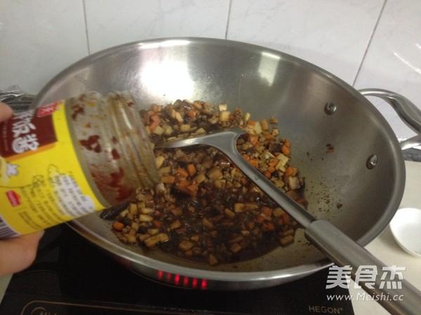 双菇豆豉肉酱怎么炒