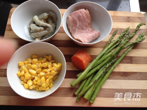 虾仁培根焗饭的做法大全