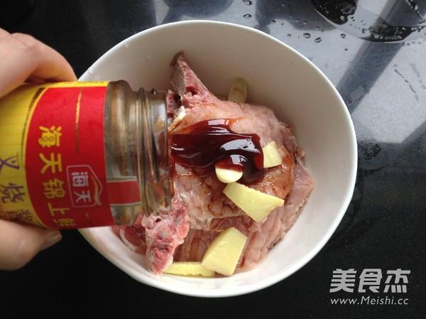 香烤叉烧猪排饭的简单做法