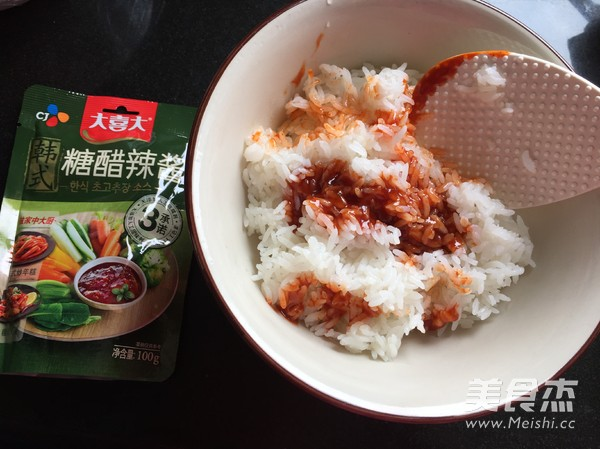 甜辣寿司卷的家常做法