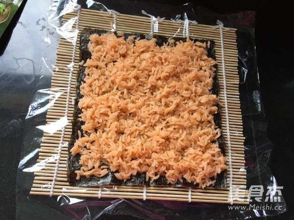 甜辣寿司卷怎么吃