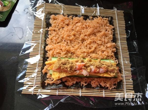甜辣寿司卷怎么做