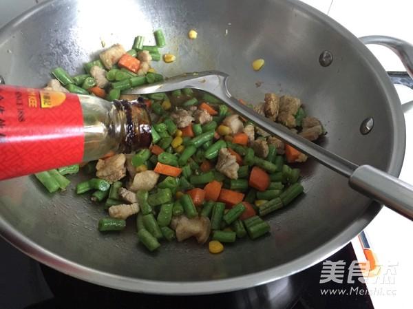 五花肉豆角焖饭怎么吃