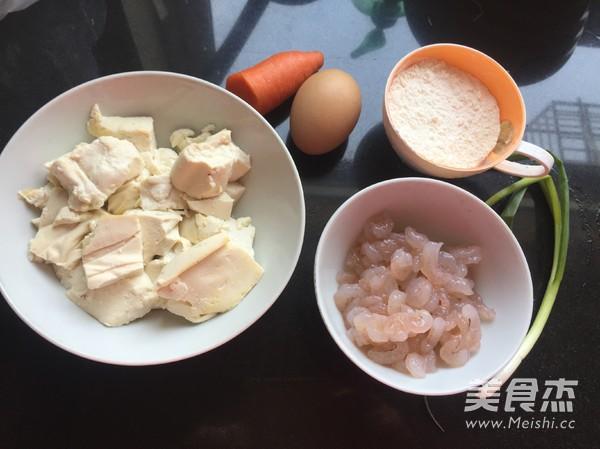 虾仁豆腐饼的做法大全