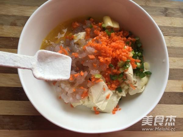 虾仁豆腐饼的简单做法
