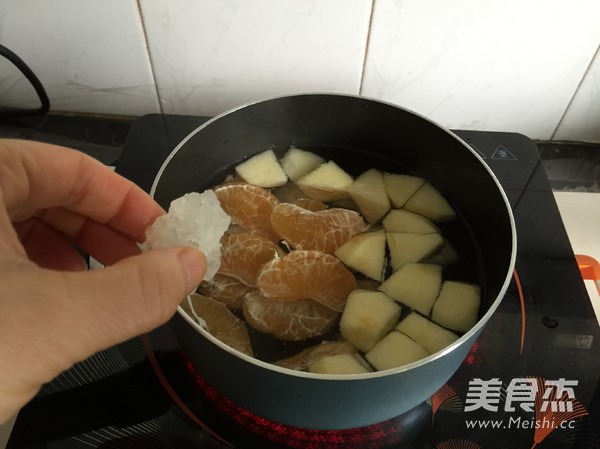 水果小圆子甜汤的简单做法