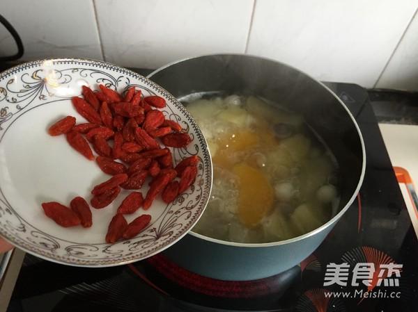 水果小圆子甜汤怎么做