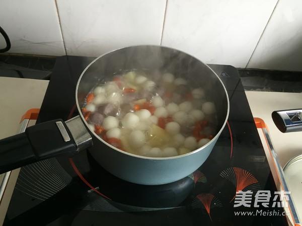 水果小圆子甜汤怎么炒