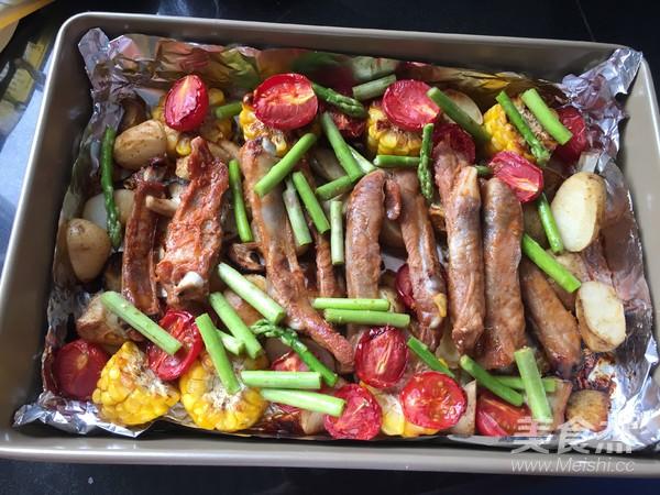 杂蔬烤排骨怎么煮