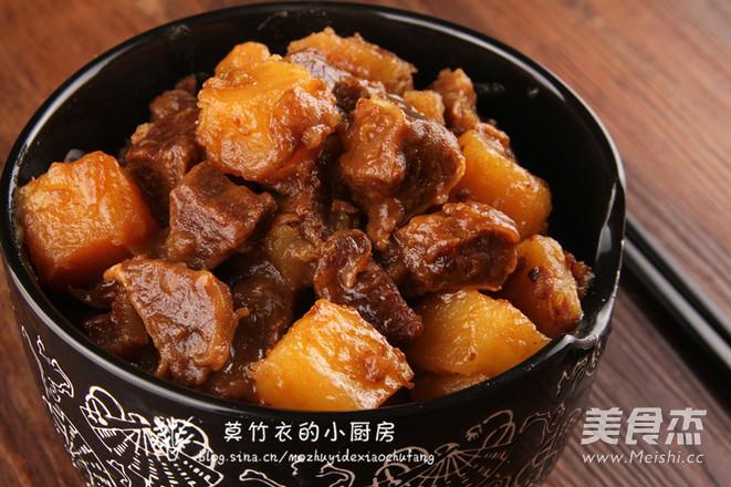 土豆烧牛肉怎么煮