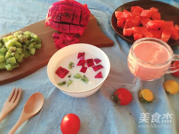 有家鲜厨房 | 大暑养生汤:银耳水果汤成品图