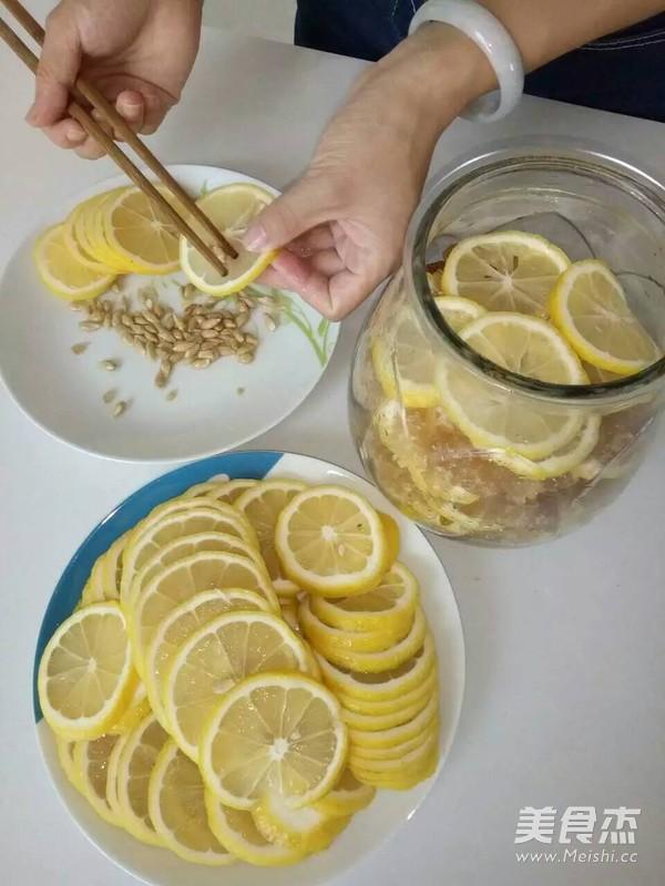 冰糖柠檬膏的家常做法