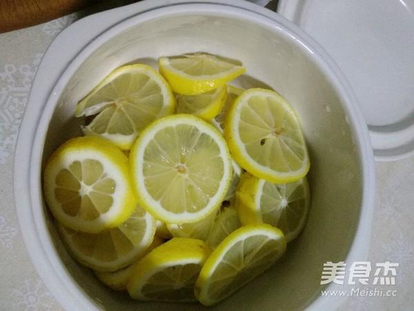 熬制-冰糖柠檬膏的家常做法