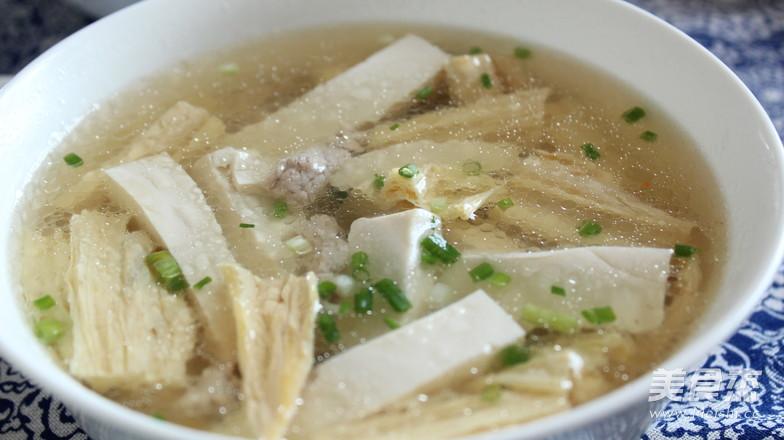 腐竹豆腐汤怎么炒