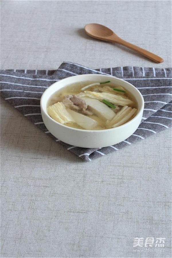 腐竹豆腐汤怎么煮