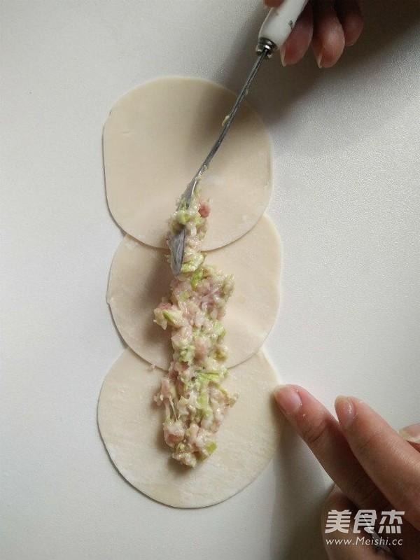 玫瑰花形饺子怎么做
