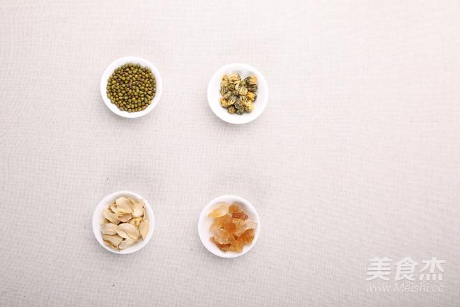 绿豆百合菊花粥的做法大全
