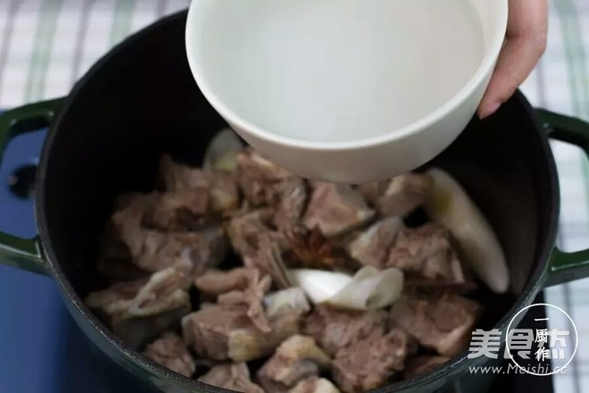 清炖羊排萝卜汤怎么吃
