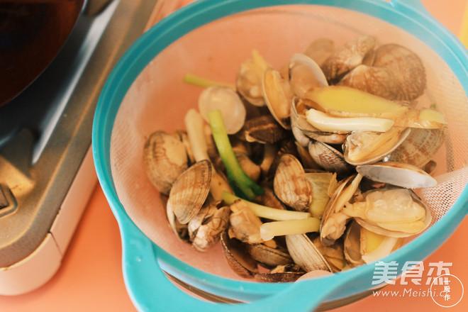 蛤蜊冬瓜汤的步骤
