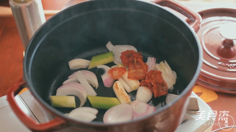 韩式部队锅|一厨作的家常做法
