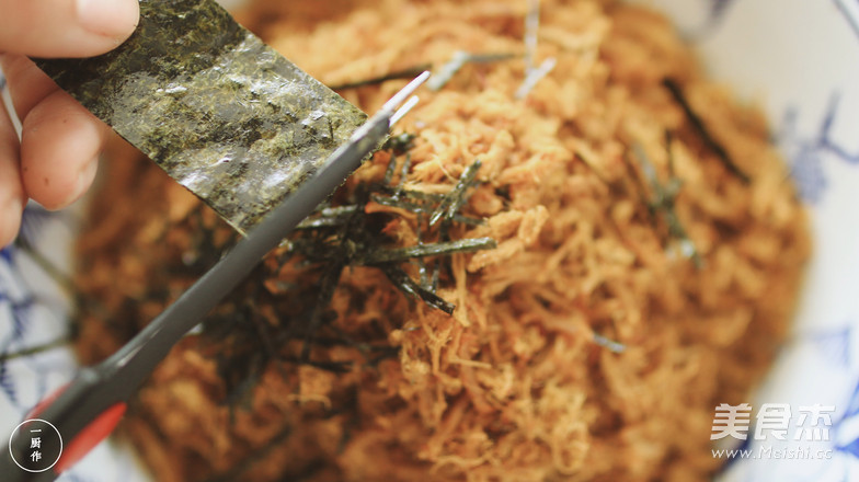 咖喱肉松|一厨作的步骤