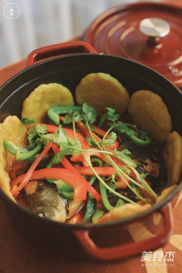 围炉铁锅鱼|一厨作成品图