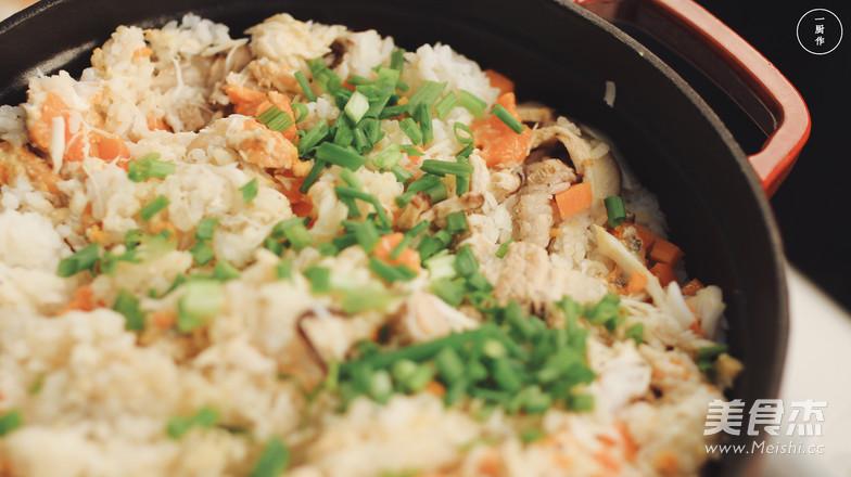 膏蟹蒸饭|一厨作的步骤