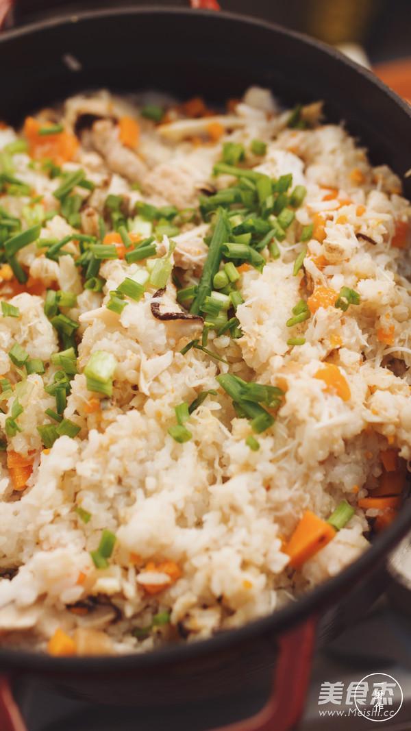 膏蟹蒸饭|一厨作成品图