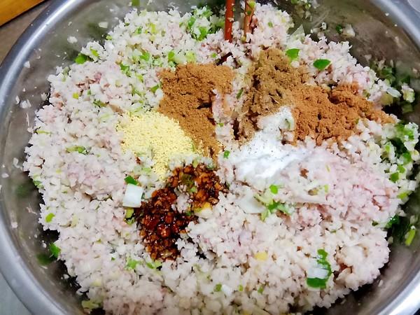 莲菜大肉水饺的简单做法