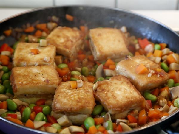 锅塌豆腐怎样炒