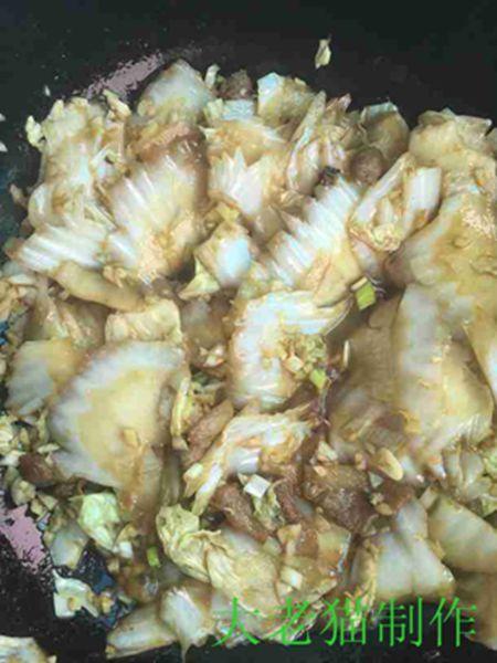 大白菜五花肉炖豆腐怎样煮