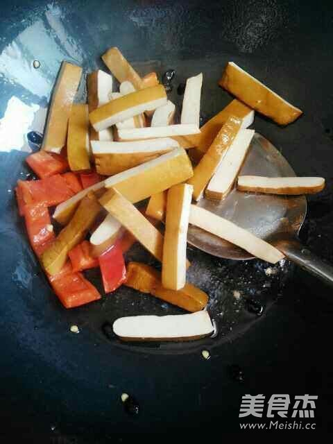 豆豉香干的家常做法