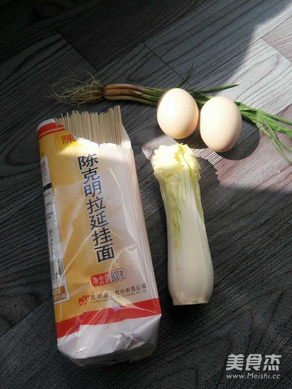 白菜炒面的做法大全