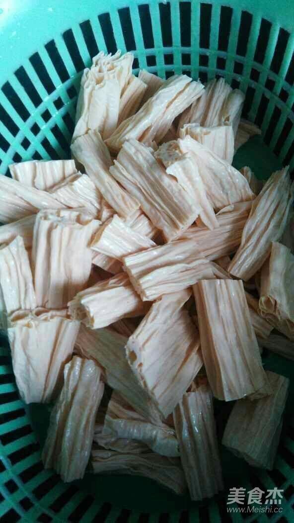 腐竹炒黄瓜的家常做法
