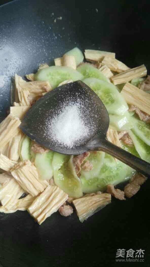腐竹炒黄瓜怎么煮