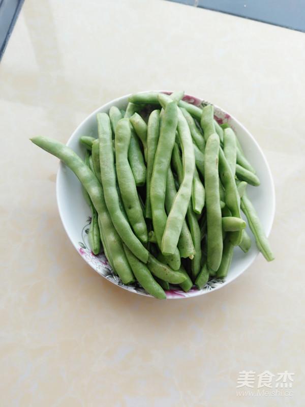 酸四季豆炒腊肉的做法大全