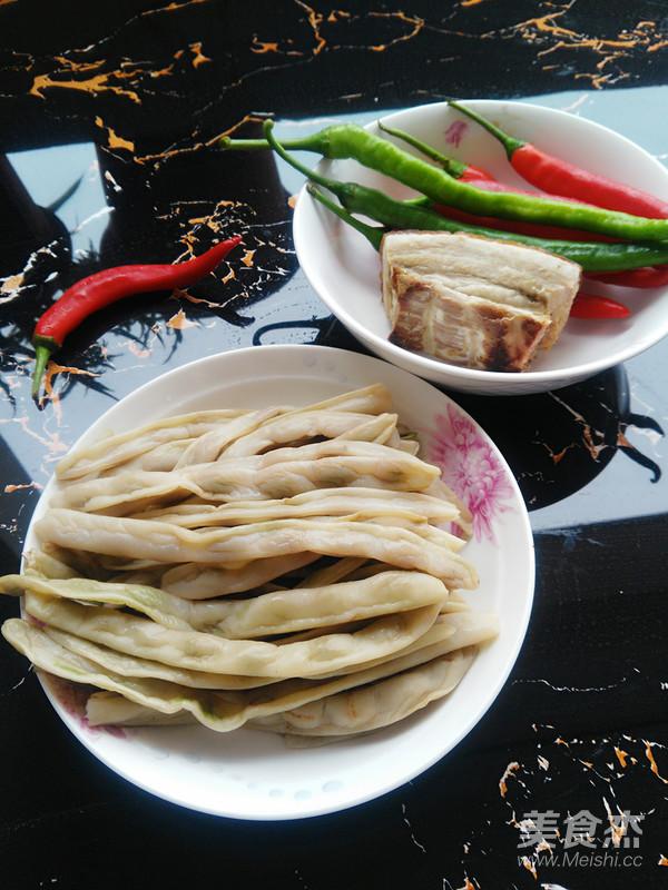 酸四季豆炒腊肉怎么做