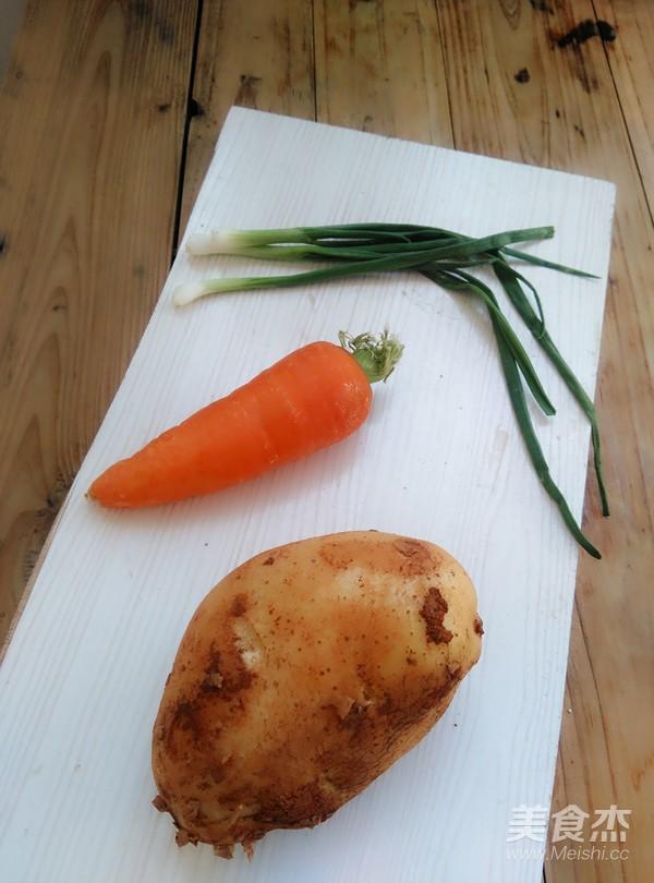 胡萝卜拌土豆丝的做法大全