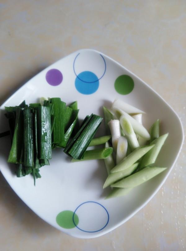 青蒜烧油豆腐的做法图解