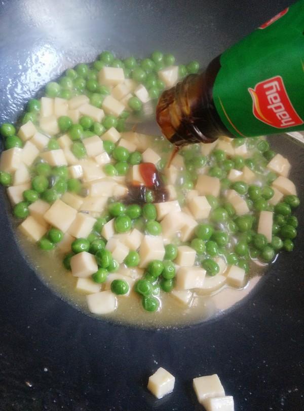 豌豆杏鲍菇炒肉丁怎么煸